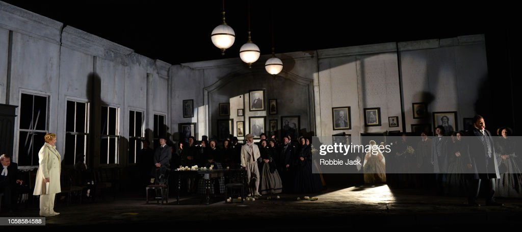 English National Opera's production of Gaetano Donizettiís Lucia di Lammermoor at the London Coliseum : News Photo