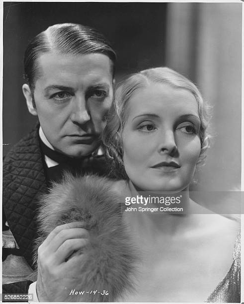 Clive Brook and Miriam Jordan in Sherlock Holmes