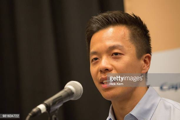 Clive Chang Director of Strategy Business Development at Disney Theatrical Group speaks onstage at the 'Keeping Performing Arts Alive in a Digital...