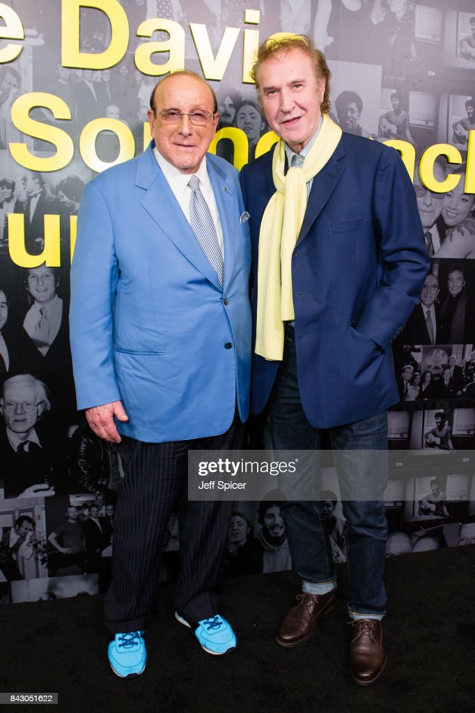 Clive Davis and Ray Davies attend the Clive Davis: 'Soundtrack Of Our Lives' special screening at The Curzon Mayfair on September 5, 2017 in London, England.