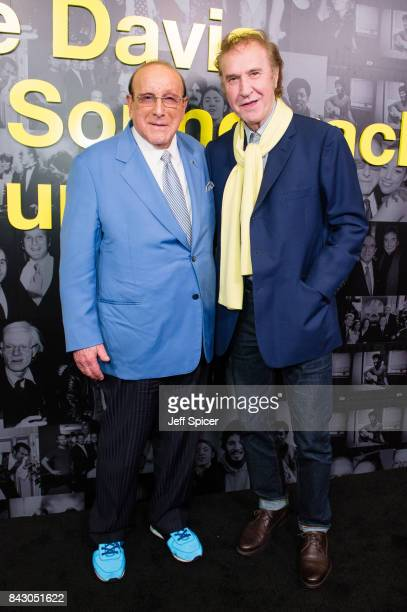 Clive Davis and Ray Davies attend the Clive Davis 'Soundtrack Of Our Lives' special screening at The Curzon Mayfair on September 5 2017 in London...