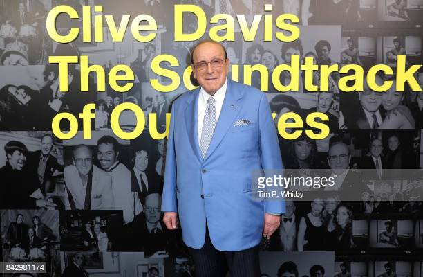 Clive Davis arrives for the Clive Davis 'Soundtrack Of Our Lives' special screening at The Curzon Mayfair on September 5 2017 in London England