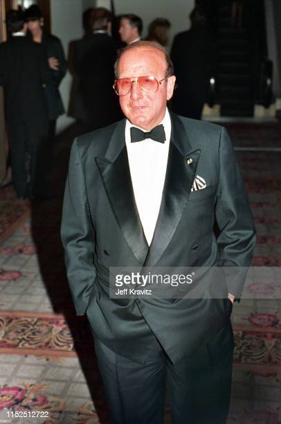 Clive Davis at The 1993 Rock And Roll Hall of Fame at The Century Plaza on January 12th, 1993 in Los Angeles, CA.