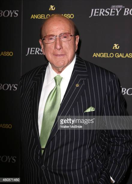 Clive Davis attend a special New York screening reception for 'Jersey Boys' hosted by Angelo Galasso at Angelo Galasso on June 2014 in New York City