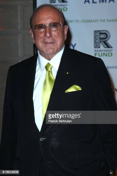 Clive Davis attend THE ALMAY CONCERT to Celebrate the RAINFOREST FUND'S 21st Birthday at The Plaza Hotel on May 13th 2010 in New York City