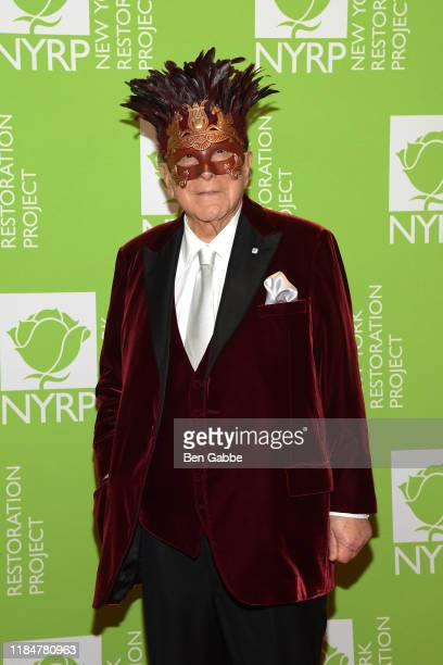 Clive Davis attends Bette Midler's Hulaween To Benefit NY Restoration Project at New York Midtown Hilton on October 31 2019 in New York City
