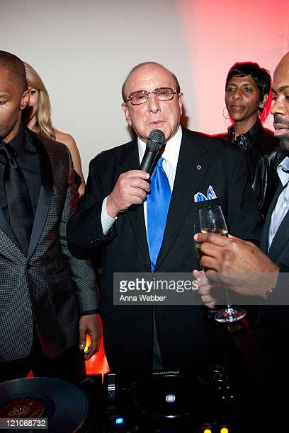 Clive Davis attends L'Ermitage on January 29 2010 in Los Angeles California