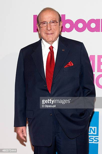 Clive Davis attends the 2014 Billboard Women In Music Luncheon at Cipriani Wall Street on December 12 2014 in New York City