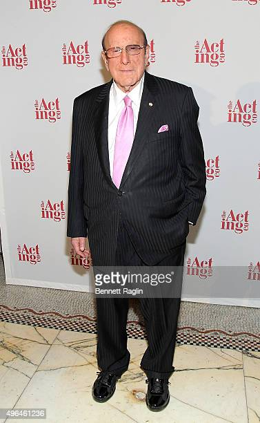 Clive Davis attends the 2015 Acting Company Fall Gala at Capitale on November 9 2015 in New York City