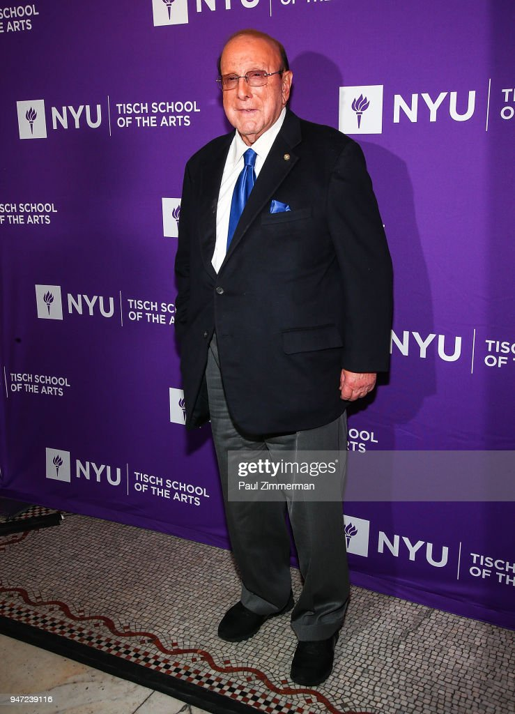 Clive Davis attends the 2018 NYU Tisch Gala at Capitale on April 16, 2018 in New York City.