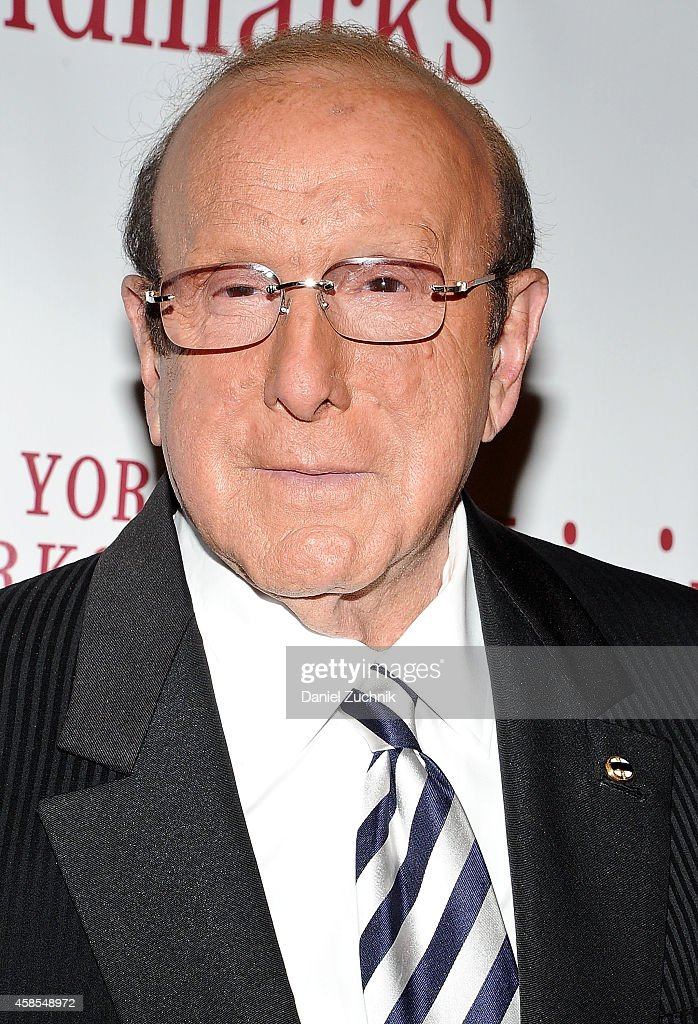 Clive Davis attends the 21st Annual Living Landmarks Ceremony at The Plaza Hotel on November 6, 2014 in New York City.
