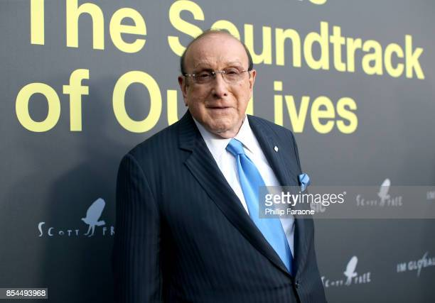 Clive Davis attends the Apple Music Los Angeles Premiere Of 'Clive Davis The Soundtrack Of Our Lives' at Pacific Design Center on September 26 2017...