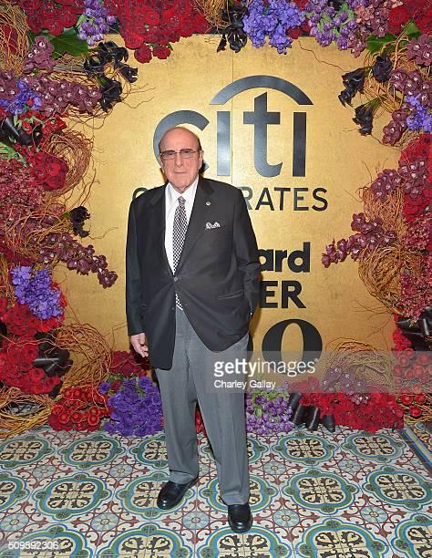 Clive Davis attends the Citi Celebrates 2016 Billboard Power 100 on February 12 2016 in Los Angeles California