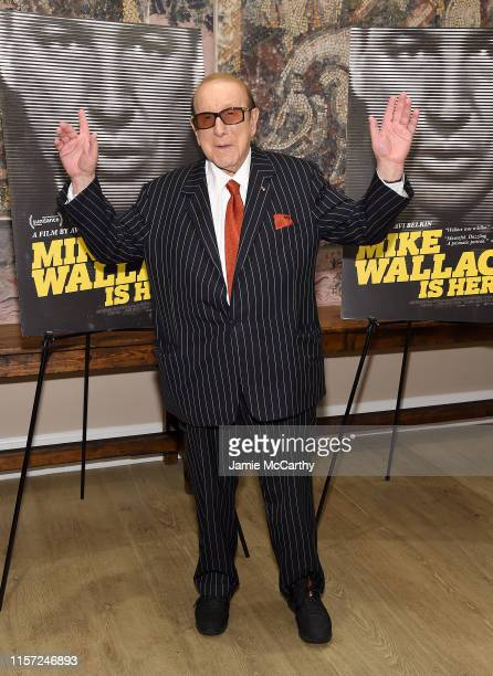 """Clive Davis attends the """"Mike Wallace Is Here"""" New York Premiere at the Whitby Hotel on June 20, 2019 in New York City."""