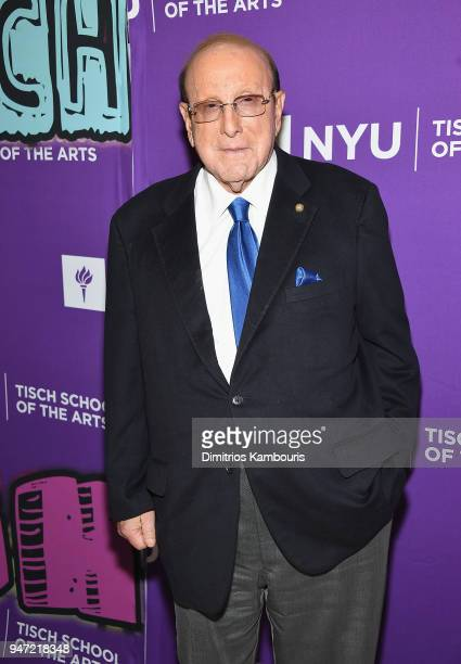 Clive Davis attends The New York University Tisch School Of The Arts 2018 Gala at Capitale on April 16 2018 in New York City
