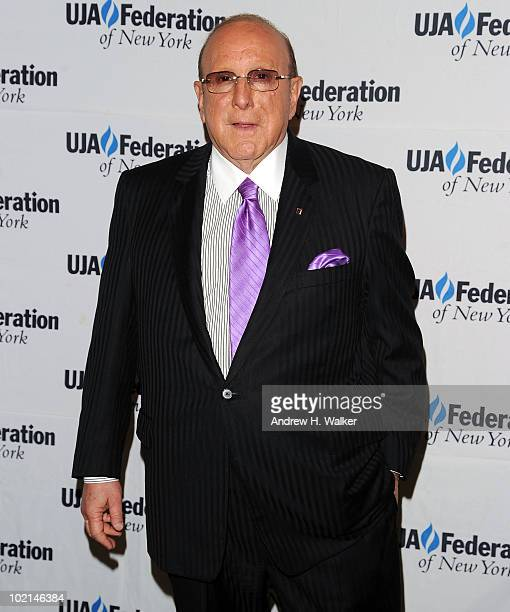 Clive Davis attends the UJAFederation's 2010 Music Visionary of the Year award luncheon at The Pierre Ballroom on June 16 2010 in New York City