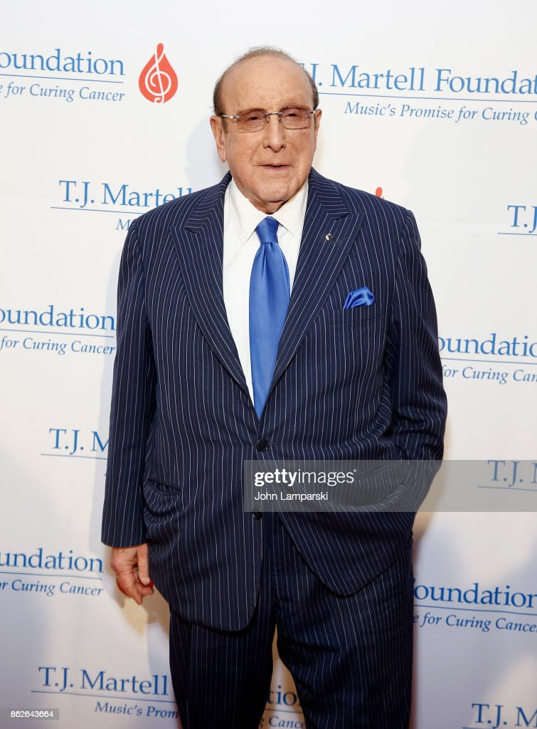 Clive Davis attends T.J. Martell 42nd Annual New York Honors Gala at Guastavino's on October 17, 2017 in New York City.