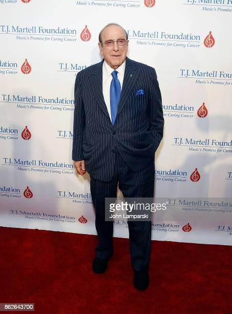 Clive Davis attends TJ Martell 42nd Annual New York Honors Gala at Guastavino's on October 17 2017 in New York City