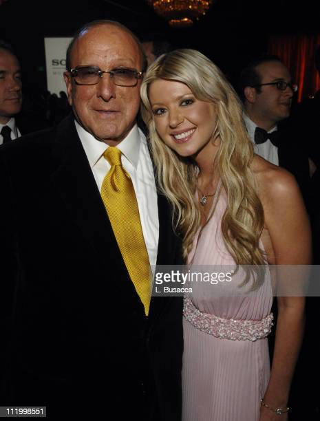 Clive Davis Chairman and CEO BMG US and Tara Reid *EXCLUSIVE*