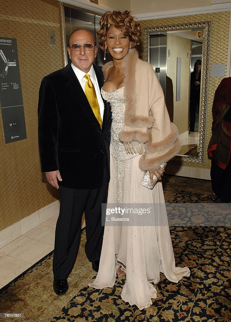 Clive Davis, Chairman and CEO BMG US, and Whitney Houston *EXCLUSIVE*
