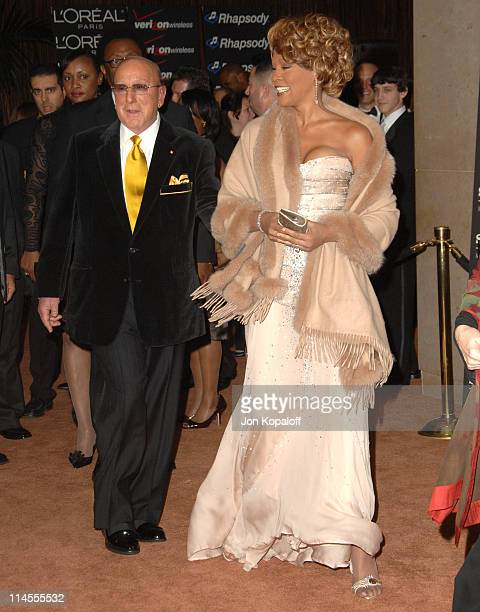 Clive Davis Chairman and CEO BMG US and Whitney Houston