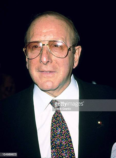 Clive Davis during 31st Annual Publicists Guild of America Awards Luncheon at Beverly Hills Hilton Hotel in Beverly Hills California United States