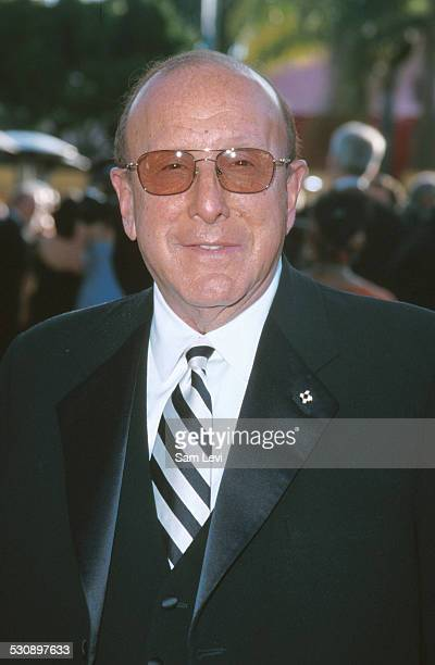 Clive Davis during 7th Annual Vanity Fair Oscar Party Arrivals at Morton's Restaurant in Beverly Hills California United States