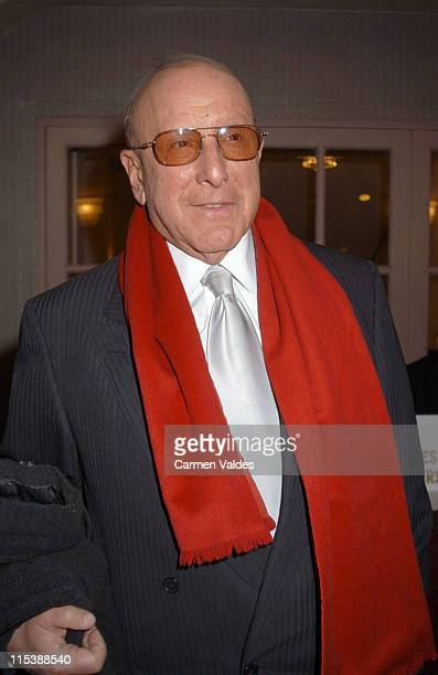 Clive Davis during The 18th Annual Rock and Roll Hall of Fame Induction Ceremony at The Waldorf Astoria in New York City New York United States