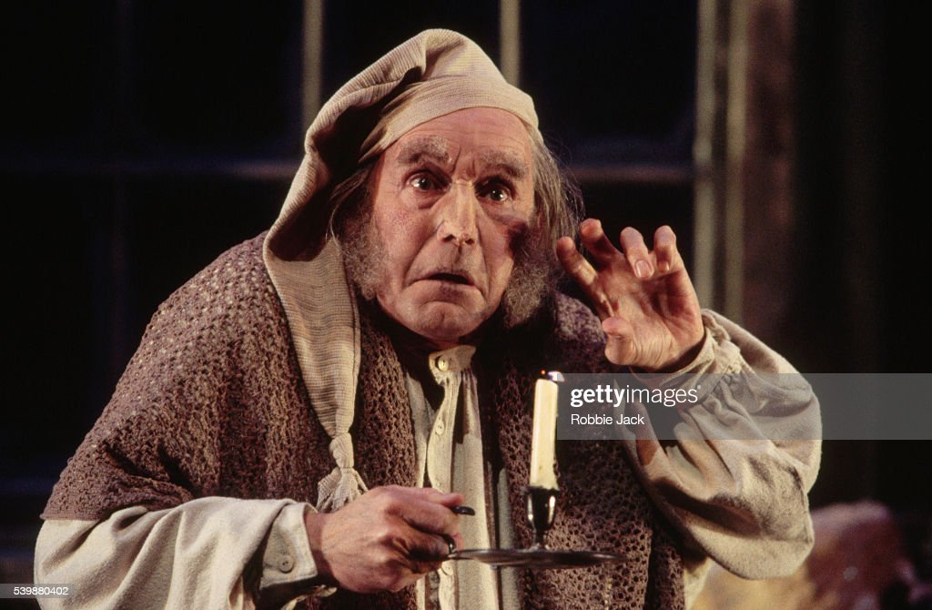 Clive Francis in A Christmas Carol : News Photo