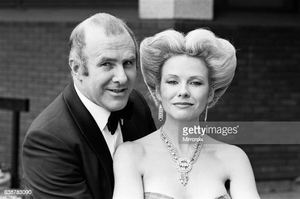 Clive James and Pamela Stephenson pictured at London Weekend television 27th May 1981