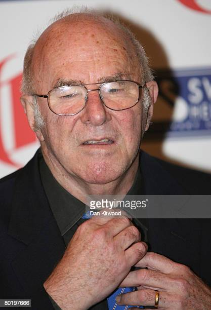 Clive James arrives at The Oldie Of The Year Award at Simpson'sInn on The Strand on March 11 2008 in London England