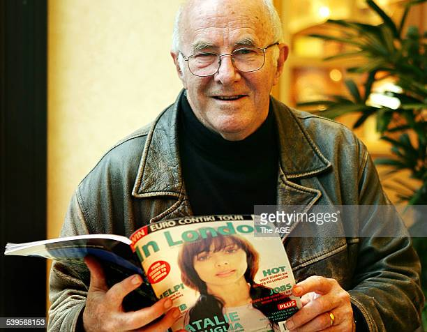 Clive James with his new 'In London' magazine Monday 20 June 2005 THE AGE TRAVEL Picture by RODGER CUMMINS