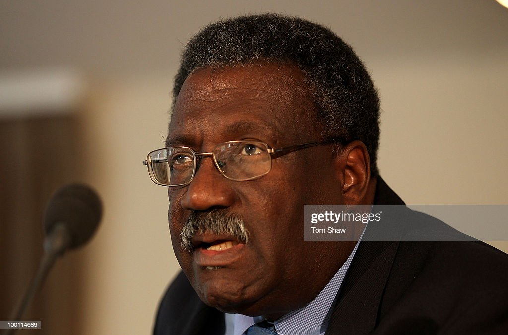 Clive Lloyd a member of the ICC Cricket Committee speaks during a press conference at at Lords on May 21, 2010 in London, England.