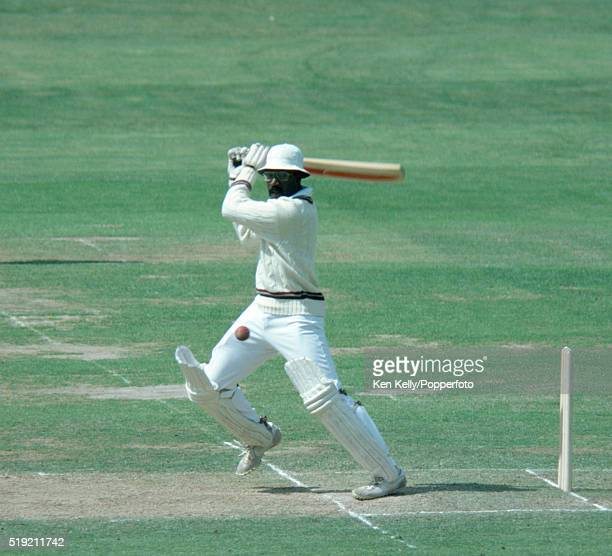 Clive Lloyd batting for the West Indies during the 2nd Test match between England and the West Indies at Lord's cricket ground in London, 19th June...