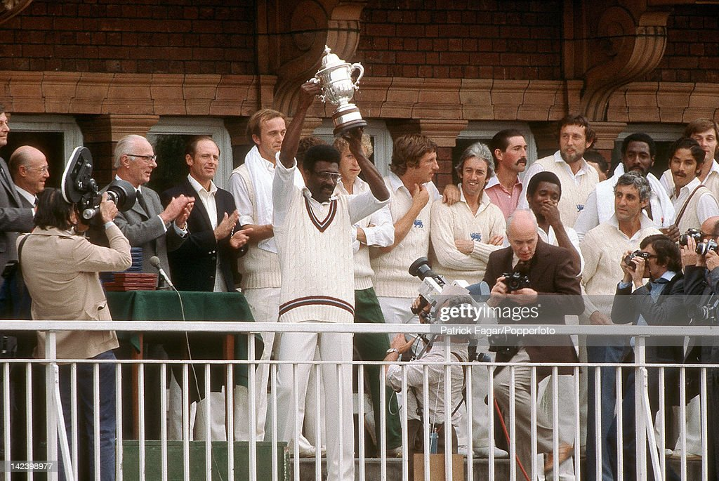 """Prudential World Cup, Cricket World Cup 1979, England v West Indies at Lord's"" : News Photo"