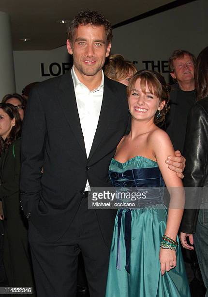 Clive Owen and Addison Timlin during Derailed New York City Premiere Presented by L'Oreal and ELLE Magazine at Loews Theatre Lincoln Square in New...
