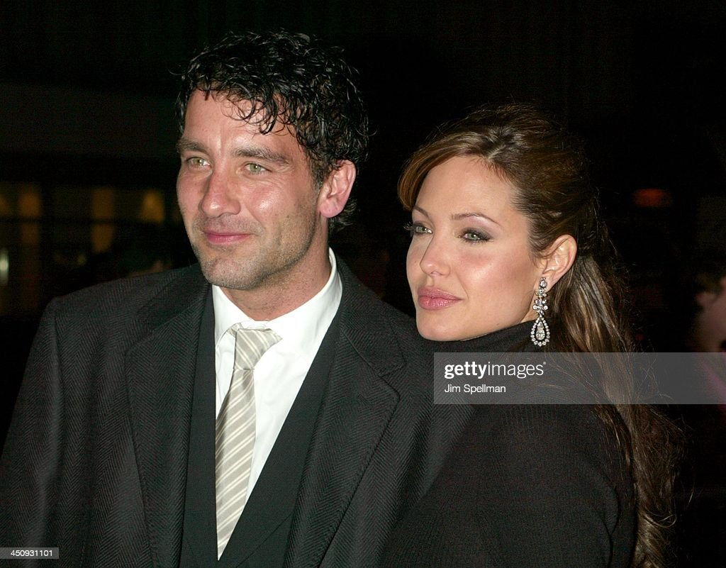 Angelina Jolie Beyond Borders clive owen and angelina jolie during world premiere of