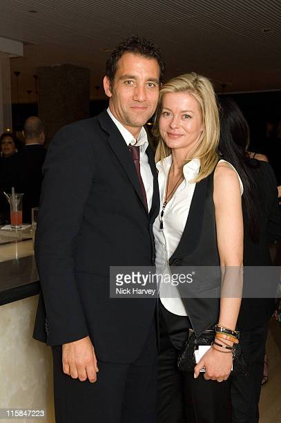 Clive Owen and Lady Helen Taylor during Lady Helen Taylor and Mariella Frostrup Host an Evening at Sanderson in Aid of CLIC Sargent at Sanderson in...