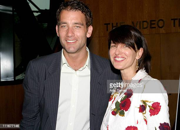 Clive Owen and Ruth Vitale Paramount Classics during 2004 Los Angeles Film Festival 'I'll Sleep When I'm Dead' Screening at Directors Guild of...