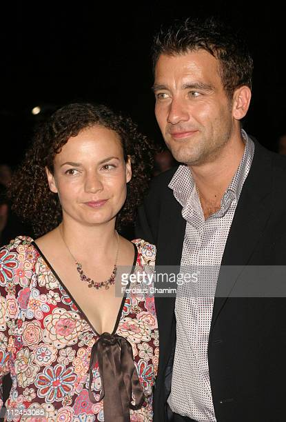 Clive Owen and wife SarahJane Fenton during 'King Arthur' London Premiere After Party Arrivals at Guildhall London in London Great Britain