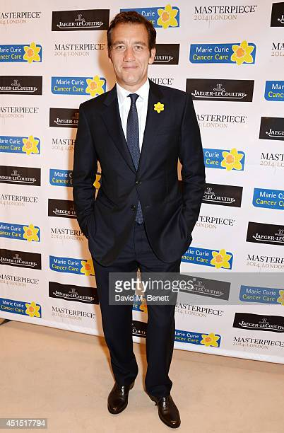 Clive Owen arrives at The Masterpiece Marie Curie Party supported by JaegerLeCoultre and hosted by Heather Kerzner at The Royal Hospital Chelsea on...