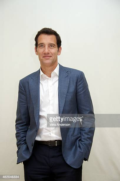 Clive Owen at 'The Knick' Press Conference at the Four Seasons Hotel on July 9 2014 in Beverly Hills California