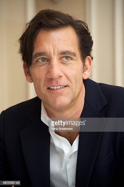 Clive Owen at 'The Knick' Press Conference at the Waldorf Astoria Hotel on October 12 2015 in New York City
