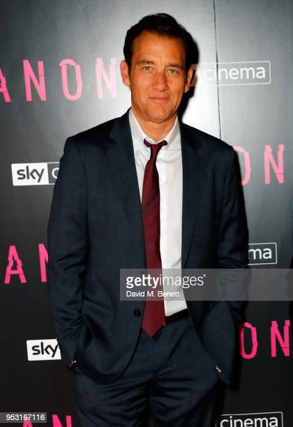 Clive Owen attends a special screening of 'Anon' at Everyman King's Cross on April 30 2018 in London England