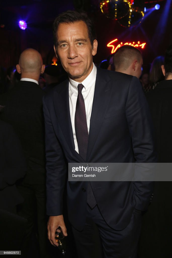 Clive Owen attends as Giorgio Armani hosts trunk show at the Giorgio's London event to celebrate the opening of the new Giorgio Armani and Armani/Casa boutiques on Sloane Street on April 12, 2018 in London, England.