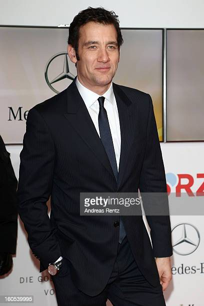 Clive Owen attends 'Goldene Kamera 2013' at Axel Springer Haus on February 2 2013 in Berlin Germany