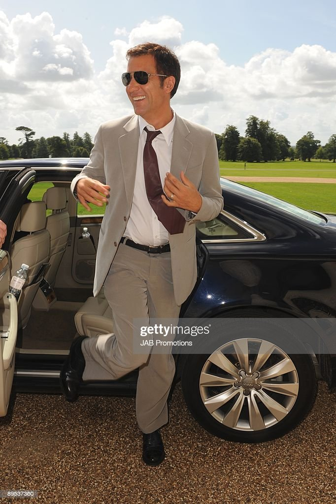 Clive Owen attends private lunch hosted by Audi at Goodwood on July 30, 2009 in Chichester, England.