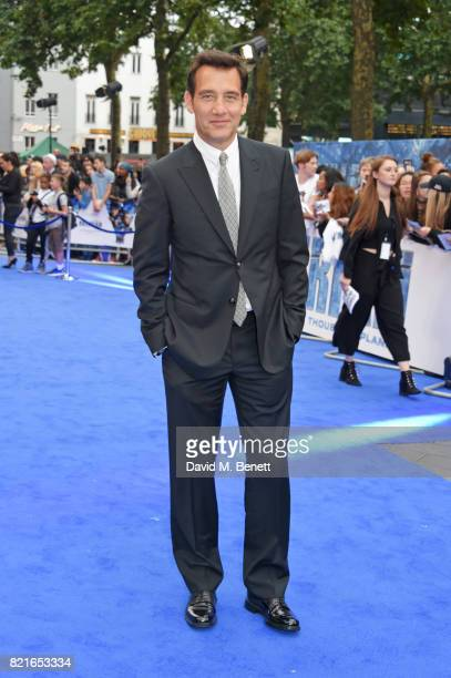 Clive Owen attends the European Premiere of 'Valerian And The City Of A Thousand Planets' at Cineworld Leicester Square on July 24 2017 in London...