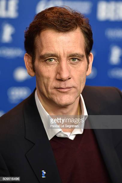 Clive Owen attends the International Jury press conference during the 66th Berlinale International Film Festival Berlin at Grand Hyatt Hotel on...
