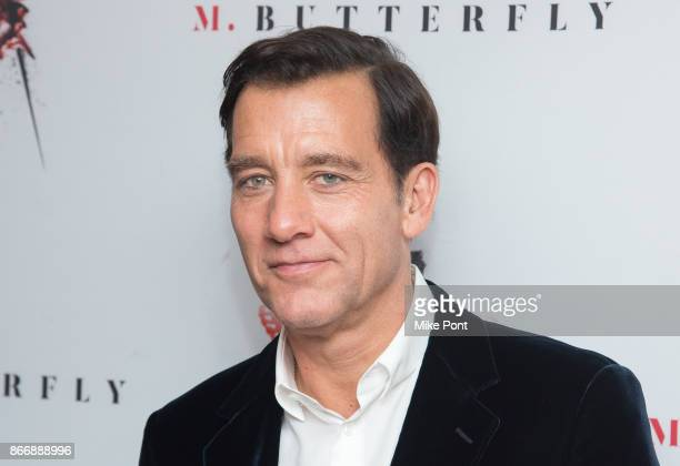 Clive Owen attends the 'M Butterfly' Broadway opening night after party at Redeye Grill on October 26 2017 in New York City